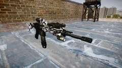 Automatische Gewehr Colt M4A1 Sibirien