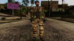 Les soldats de la MEK (Battlefield 2) de la Peau
