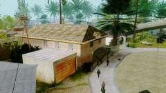 De nouvelles textures maisons sur grove street