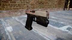Pistolet Glock 20 cerise blososm