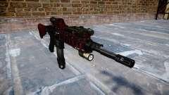 Automatische Gewehr Colt M4A1 Kunst des Krieges