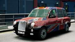 London Taxi Cab v2 pour GTA 4