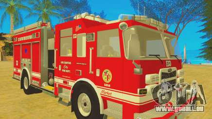 Pierce Arrow XT 2008 Los Santos Fire Department für GTA San Andreas