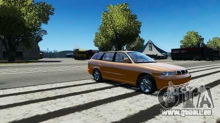 Daewoo Nubira I Wagon CDX US 1999 pour GTA 4