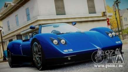 Pagani Zonda S (C12S) Roadster 2011 pour GTA 4