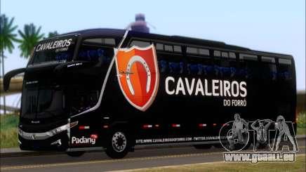 Marcopolo Paradiso G7 1600LD Scania K420 pour GTA San Andreas