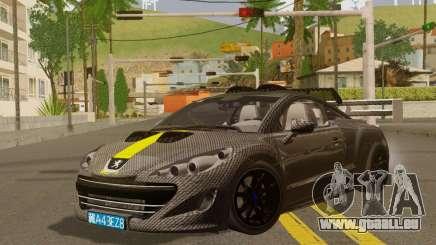 Peugeot RCZ GTS 2010 Tuned v2.0 für GTA San Andreas