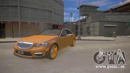 Mercedes-Benz E63 AMG для GTA 4 pour GTA 4