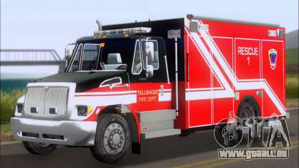 Pierce Commercial TFD Rescue 1 für GTA San Andreas