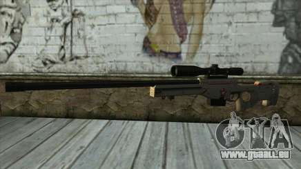 Sniper Rifle from PointBlank v2 für GTA San Andreas