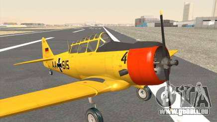 North American T-6 TEXAN AA615 pour GTA San Andreas