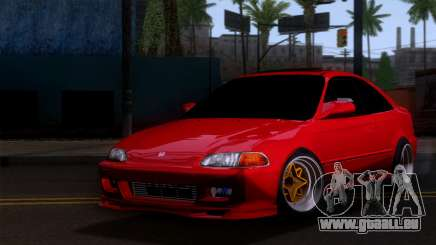 Honda Civic SI Coupe pour GTA San Andreas
