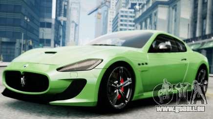 Maserati Gran Turismo MC Stradale 2014 pour GTA 4
