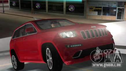 Jeep Grand Cherokee SRT-8 (WK2) 2012 pour GTA Vice City