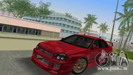Subaru Impreza WRX 2002 Type 6 pour GTA Vice City