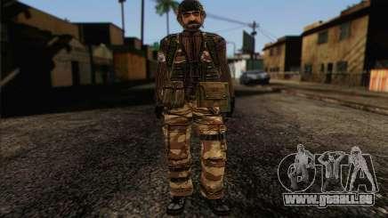 Les soldats de la MEK (Battlefield 2) de la Peau 4 pour GTA San Andreas