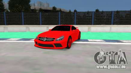 Mercedes Benz SL65 AMG Black Series pour GTA 4