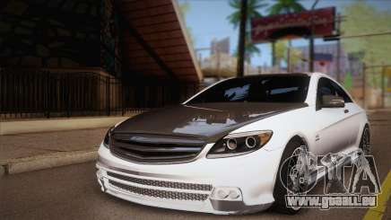 Mercedes-Benz CL63 AMG für GTA San Andreas