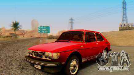 Saab 99 Turbo 1978 pour GTA San Andreas
