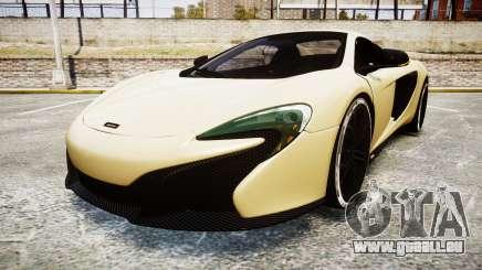 McLaren 650S Spider 2014 [EPM] Yokohama ADVAN v3 pour GTA 4