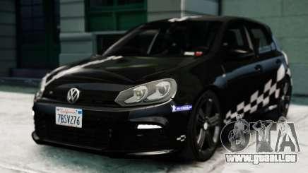 Volkswagen Golf R 2010 MTM Paintjob pour GTA 4