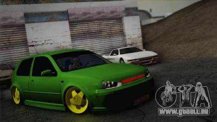 Volkswagen Golf 4 R32 Low v2 pour GTA San Andreas