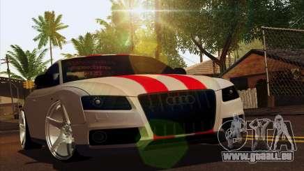 Audi S5 2007 für GTA San Andreas
