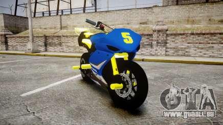 Yamaha R1 2007 Stunt für GTA 4