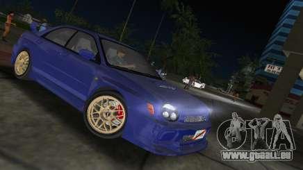 Subaru Impreza WRX 2002 Type 2 pour GTA Vice City