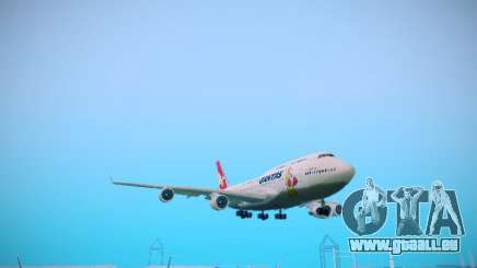 Boeing 747-438 Qantas Boxing Kangaroo pour GTA San Andreas