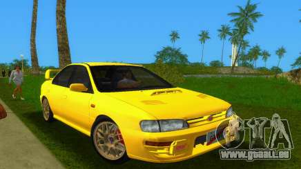 Subaru Impreza WRX STI GC8 Sedan Type 1 pour GTA Vice City
