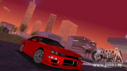 Nissan Silvia S14 RB26DETT Black Revel pour GTA Vice City