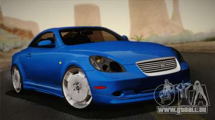 Toyota Soarer 430SC 2002 (IVF) pour GTA San Andreas