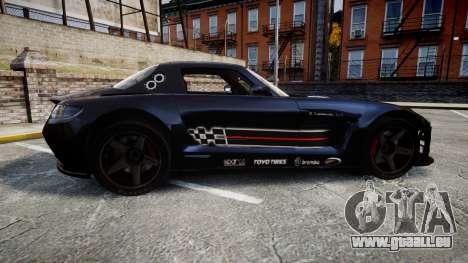 Mercedes-Benz SLS AMG GT-3 high für GTA 4 linke Ansicht