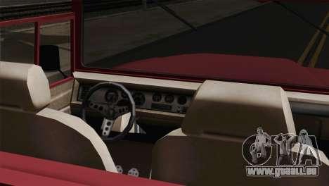 Canis Bodhi V1.0 Clean pour GTA San Andreas sur la vue arrière gauche