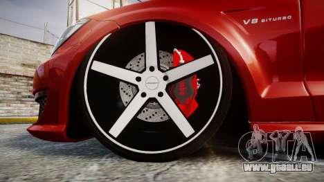 Mercedes-Benz CLS 63 AMG Vossen pour GTA 4 Vue arrière