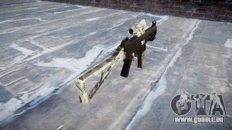 Pistolet UMP45 Benjamins pour GTA 4 secondes d'écran
