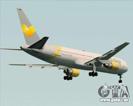 Boeing 767-330ER Condor für GTA San Andreas Seitenansicht