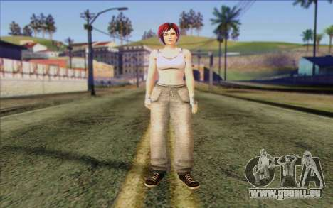 Mila 2Wave from Dead or Alive v12 pour GTA San Andreas