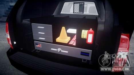 Chevrolet Suburban [ELS] Rims2 pour GTA 4 est une vue de l'intérieur