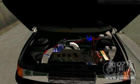 VAZ 21123 Chernysh pour GTA San Andreas sur la vue arrière gauche