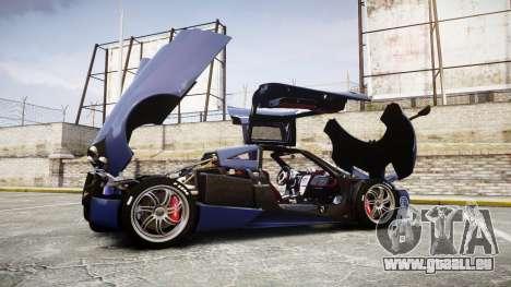 Pagani Huayra 2013 [RIV] für GTA 4 Seitenansicht