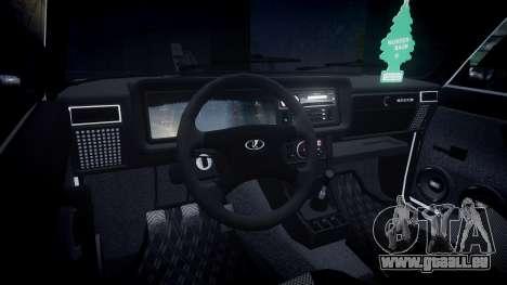 VAZ-2107 Italie pour GTA 4 Vue arrière