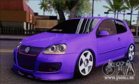 Volkswagen Golf Mk5 GTi Turkish Tuned für GTA San Andreas