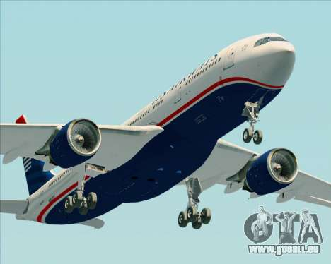 Airbus A330-200 US Airways pour GTA San Andreas salon