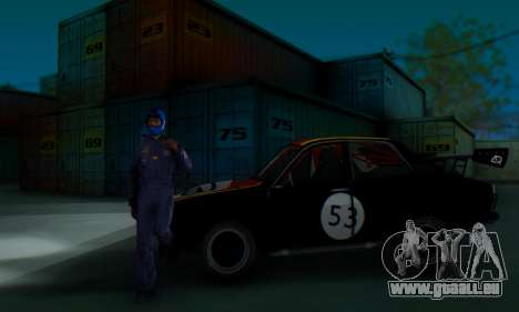 Dacia 1410 Sport pour GTA San Andreas vue intérieure