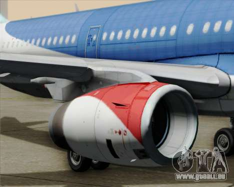 Airbus A321-200 British Midland International für GTA San Andreas