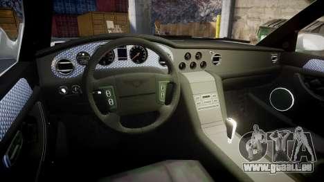 Bentley Arnage T 2005 Rims4 pour GTA 4 Vue arrière
