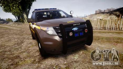 Ford Explorer 2013 Sheriff [ELS] Virginia pour GTA 4