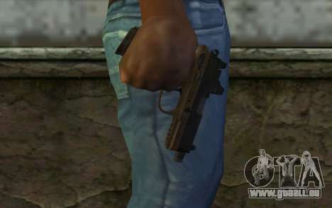FN FNP-45 Avec Vue pour GTA San Andreas troisième écran